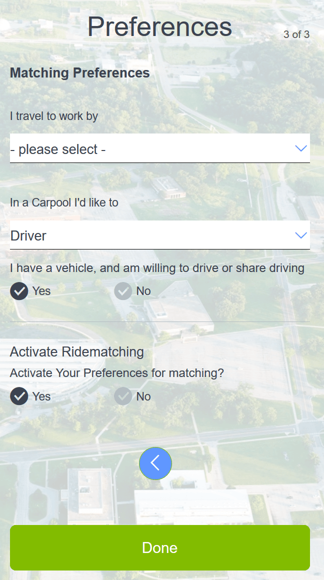commute with Argonne Carpool Connect