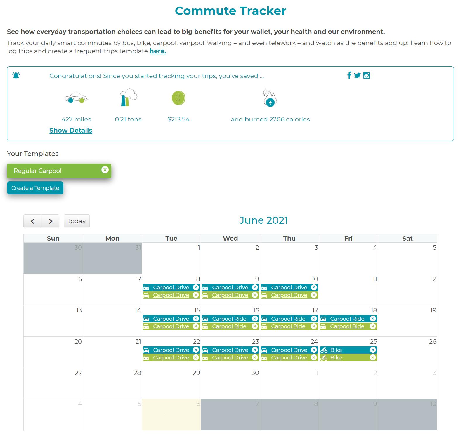 commute tracker